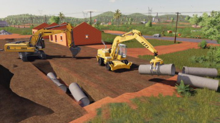 Trending mods today: Dynamic Concrete Pipes Pack v1.0