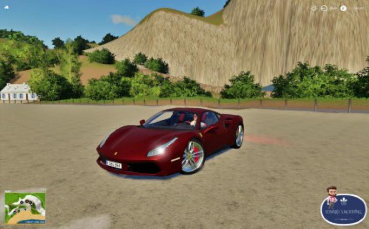 Trending mods today: Ferrari 488 GTB Fs19 v1.0