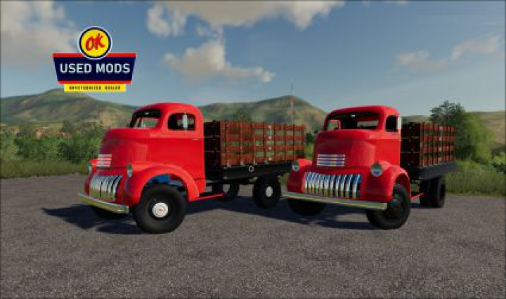 Trending mods today: 1941 Chevy COE Flatbed V1.0 - By OKUSEDMODS