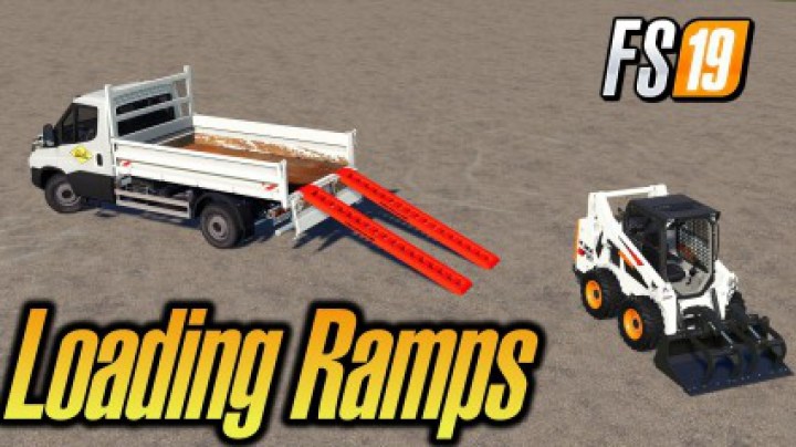 Trending mods today: Dynamic Aluminium 4t Loading Ramps With Attacher v1.0