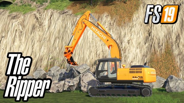 Trending mods today: Ripper R115 For Hitachi Excavator v1.0