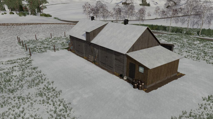 Trending mods today: Cows Barn Old v1.0.0.2