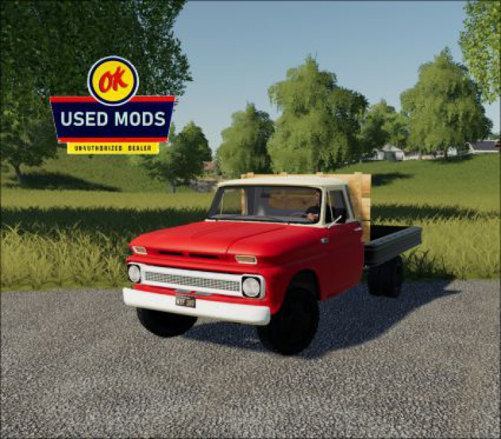 Trending mods today: 1966 Chevy C30 Flatbed V1.0 - No Bed Sides Edition - By: OKUSEDMODS