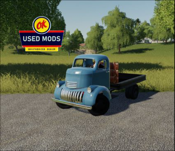 Trending mods today: 1941 Chevy COE Flatbed V1.0C Color Select - No Bed Sides Edition - By: OKUSEDMODS