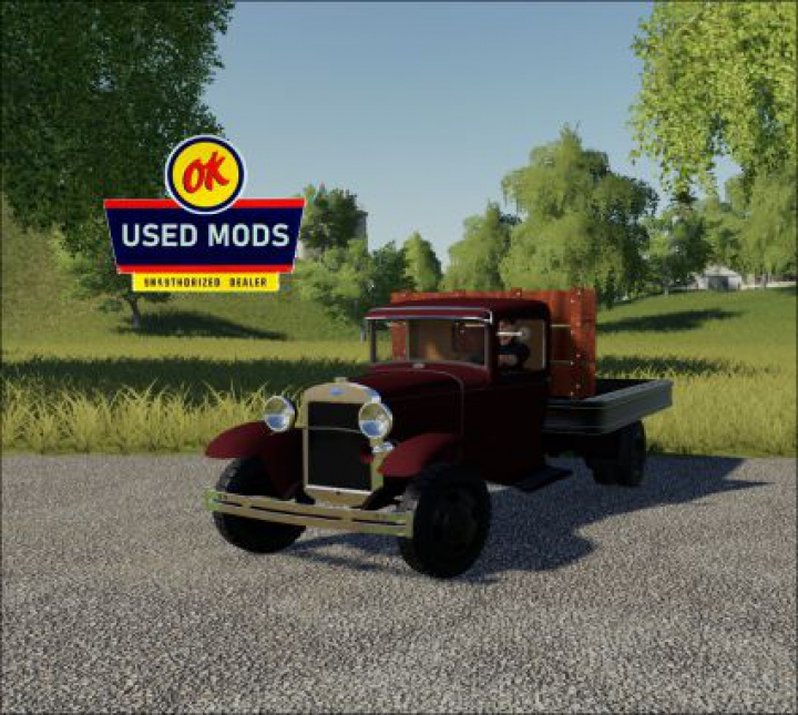 Trending mods today: 1929 Ford AA Truck V1.0 - No Bed Sides Edition - By: OKUSEDMODS