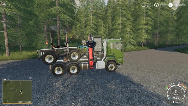 Trucks LangHolz LKW v1.1.1.0