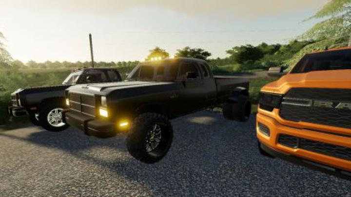 Trending mods today: 1st gen Dodge Dually