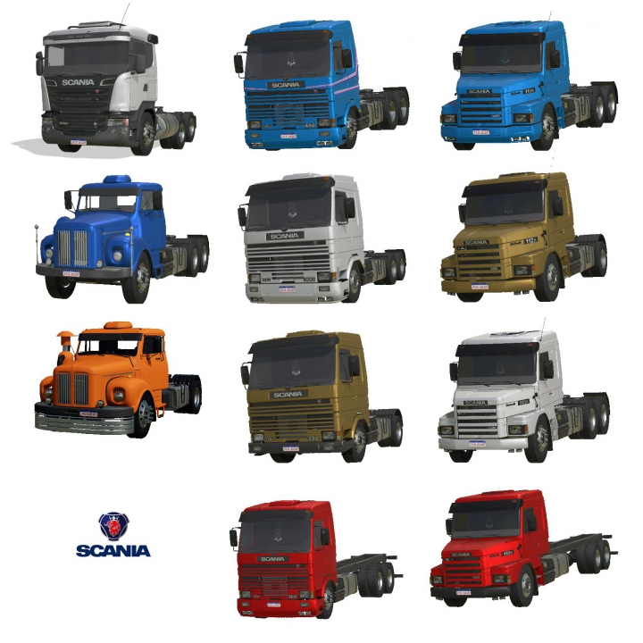 Trending mods today: Scania Trucks Pack FCS v2.0