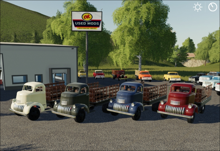 Trending mods today: 1941 Chevy COE Flatbed V2.0C Color Select - By OKUSEDMODS