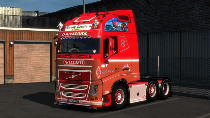 Trending mods today: Ronny Ceusters Volvo FH540 Openable Window 1.37.x
