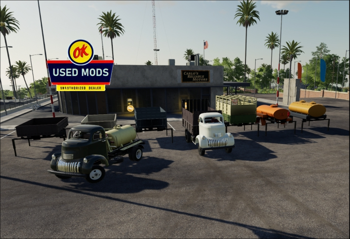 Trending mods today: 1941 Chevy COE Multitasker Pack with Color Select V1.0 - By: OKUSEDMODS