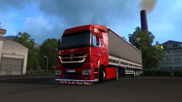 Trending mods today: Mercedes Axor Edit v2.0 1.36.x