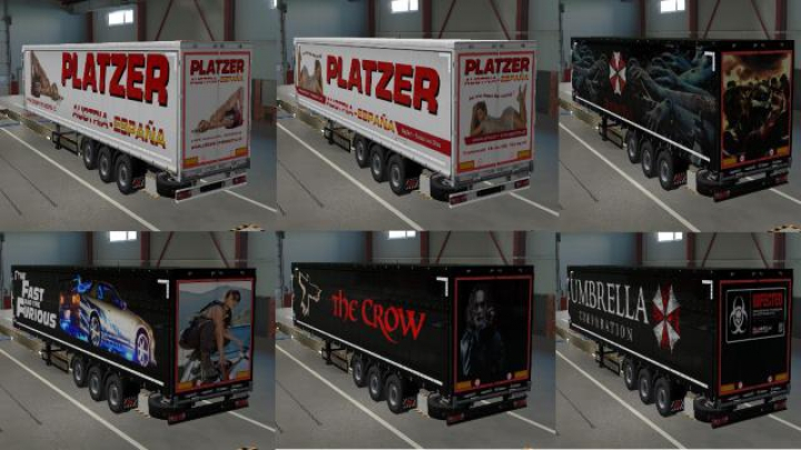 Trending mods today: SkinPack for Schwarzmueller Trailers v1.0