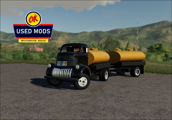 Trending mods today: 1941 Chevy COE Multitasker Pack with Color Select V1.1 Update - By: OKUSEDMODS