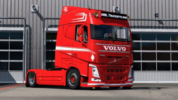 Trending mods today: Paintable MPT Style skin for Volvo FH2012 v1.0