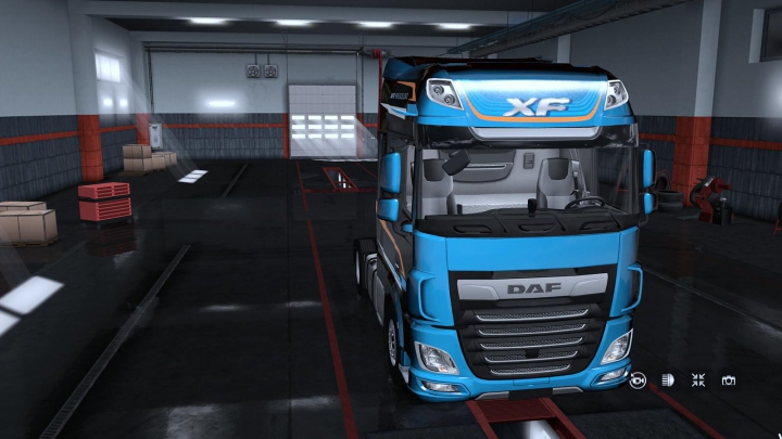 Trending mods today: Exterior view reworked for DAF XF euro 6 v1.5.2