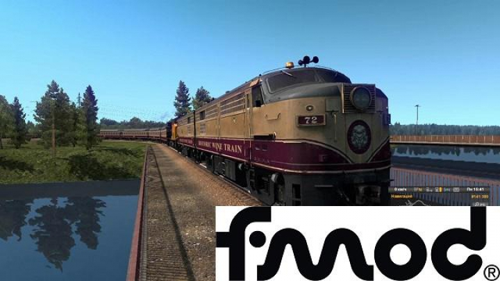Trending mods today: American Improved Trains in ETS2 v3.4 for 1.37
