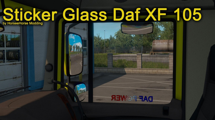 Trending mods today: Stickers Glass for Daf XF 105 1.37.x