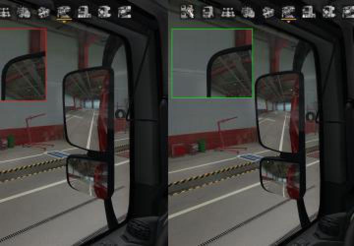 Interiors Visual Interior Mod v0.5 for ETS2 1.37.x