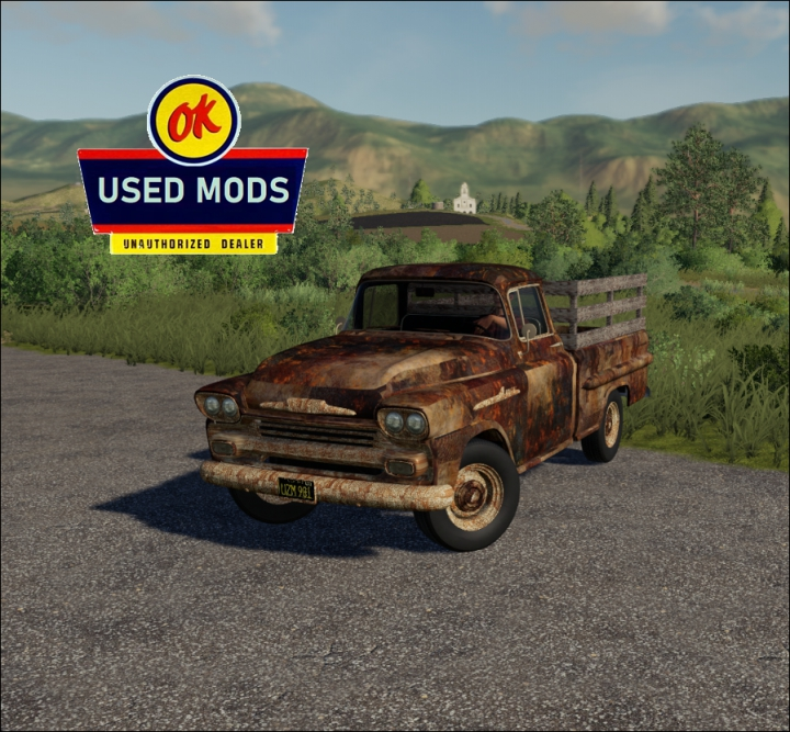 Trending mods today: 1958 Chevy Apache Task-Force Rust Never Sleeps Edition V1 - By: OKUSEDMODS