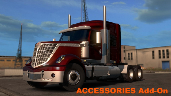 Trucks International LoneStar v2.0 1.37.x