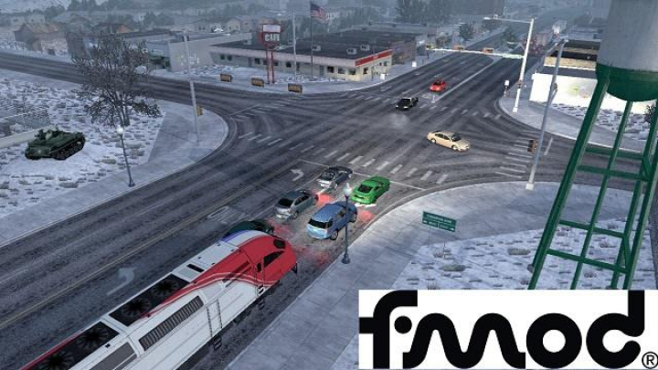 Trending mods today: Trains Everywhere ETS2 1.37