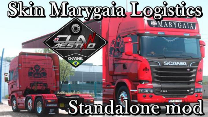Trending mods today: Skin Marygaia Logistics v1.0