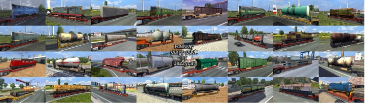 Trending mods today: Railway Cargo Pack by Jazzycat v2.1.1