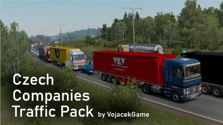 Trending mods today: Czech Companies Traffic Pack 1.37