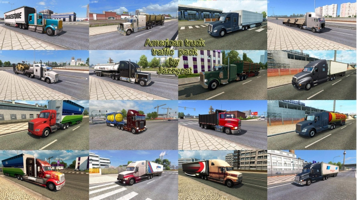 Trending mods today: American Truck Traffic Pack by Jazzycat v2.1.1
