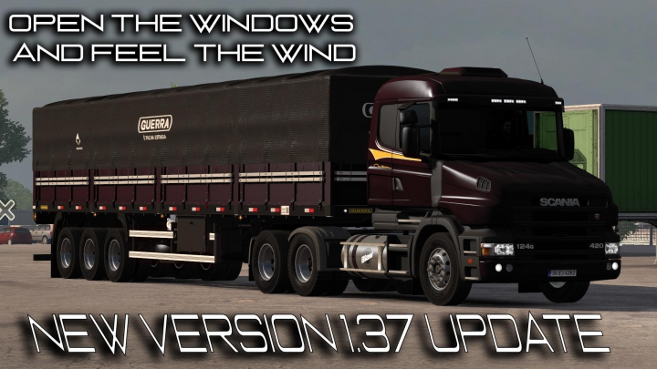 Trending mods today: Scania T and T4 BRazilian edit update 1.37