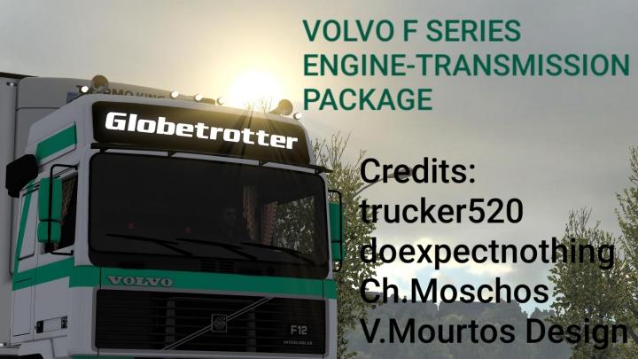 Trending mods today: Volvo F Series Engine-Transmission Package v1.0