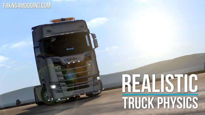 Trending mods today: Realistic Truck Physics Mod v6.0 1.37
