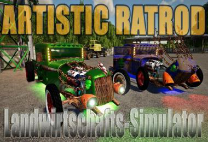 Trending mods today: ARTISTIC RATROD BY DTAPGAMING BUG FIX V1.03