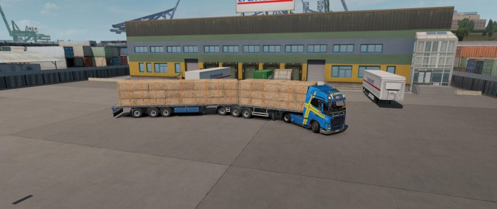SCS Flatbed B-Double by v1.2 xXCARL1992Xx category: Trailers