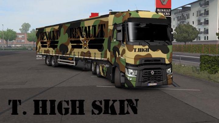 Trending mods today: Renault T Camouflage Skin Pack v1.0