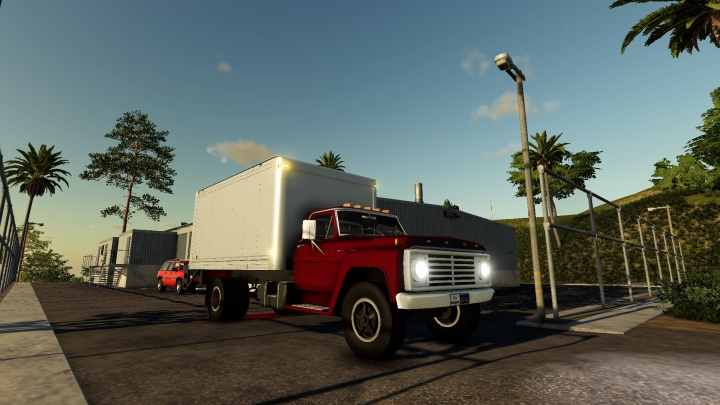 Trending mods today: Ford F600 Box Truck