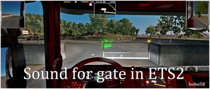 Trending mods today: Sound for gate in ETS2 1.37.x