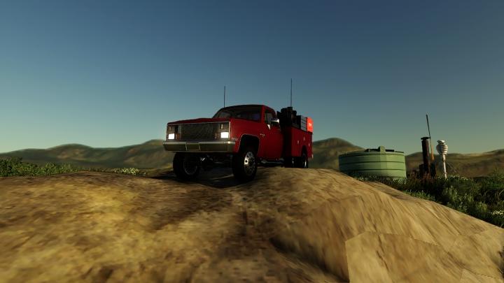 Trucks 1987 Chevy K20 Serivce V1.0.0