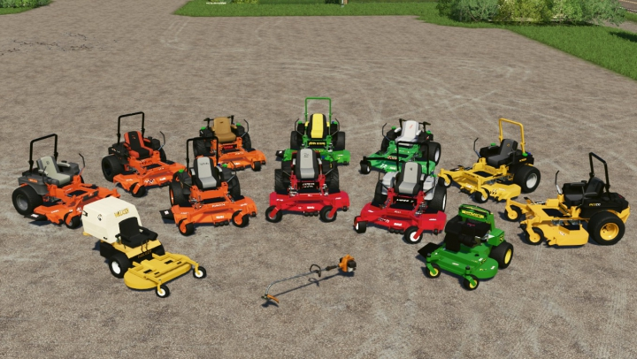 Trending mods today: Giant Mower Pack