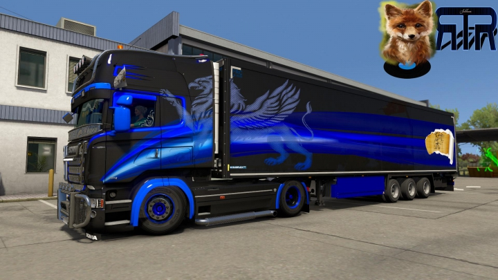Trending mods today: Griffin Combo for Scania RJL and Krone DLC v1.0