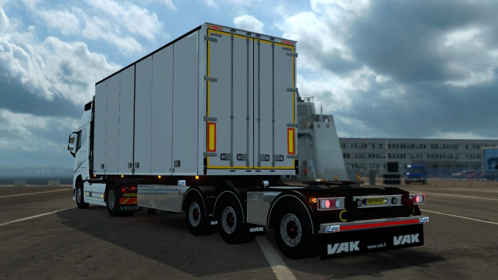 VAK V-Slider + Limetec Trailer B-Double v1.0 category: Trailers