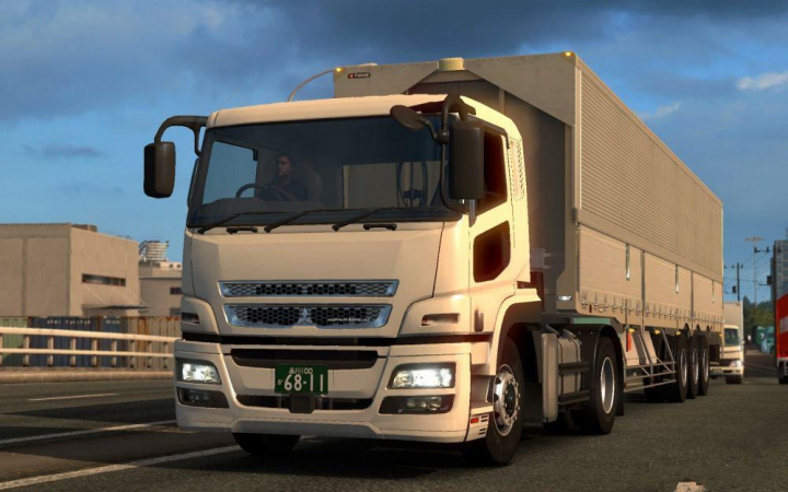 Trending mods today: Mitsubishi FUSO SuperGreat 1.37