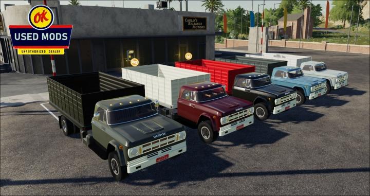 Trending mods today: Color Select - 1969 Dodge D700 Grain V1C - By OKUSEDMODS