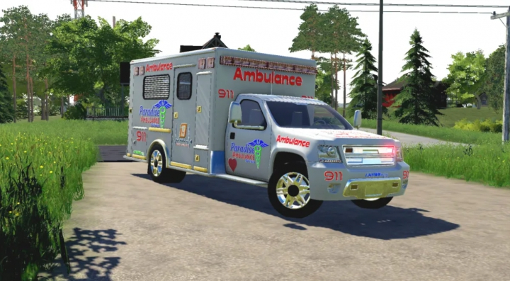 Trending mods today: FS19 Ambulance