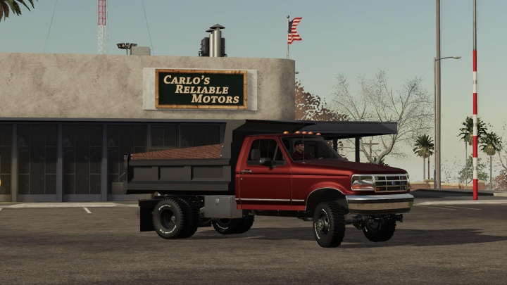 Trending mods today: OBS Ford DumpTruck *Fixed Wheels*