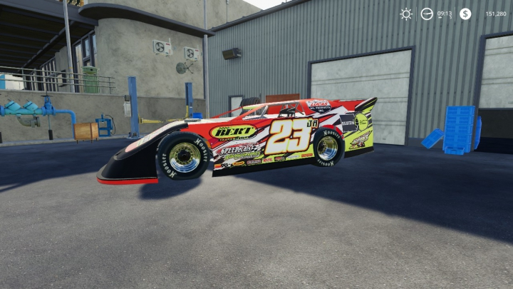 Trending mods today: Super Late Model Race Car