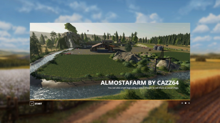 Trending mods today: FS19 Almosta Farm