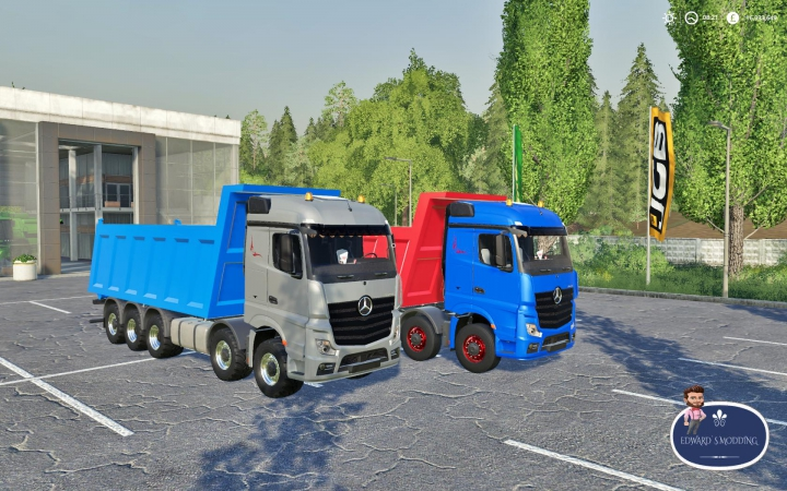 Trending mods today: Mercedes Actros Tipper Fs19 v1.0