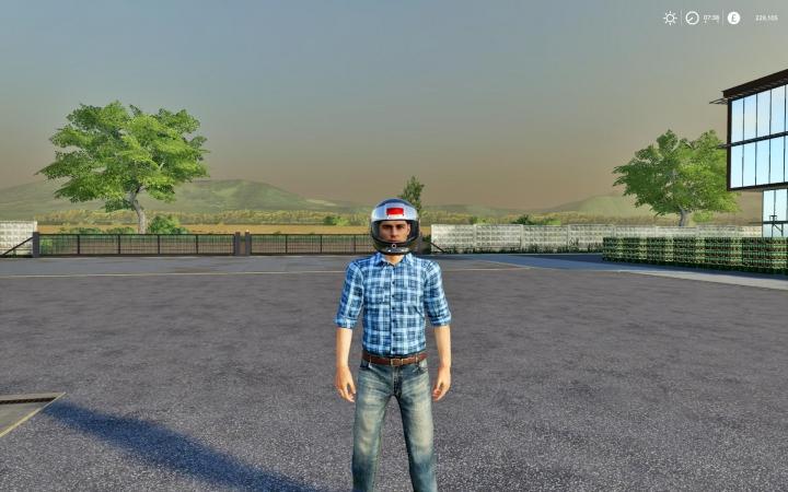 Objects FS19 Helmet v1.0.0.0
